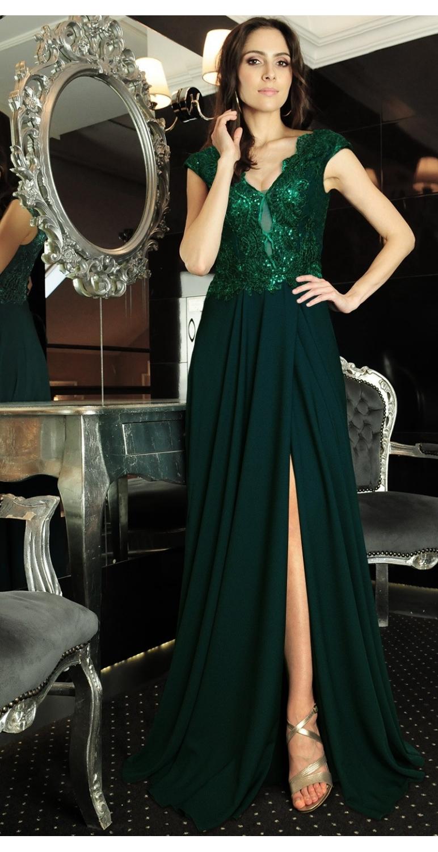 Suknia długa wizytowa model...