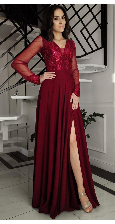 Suknia wieczorowa długa...