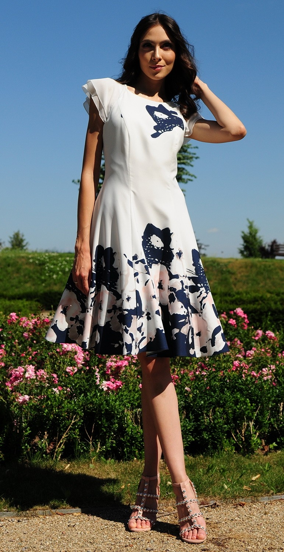 Sukienka w kwiaty model 365