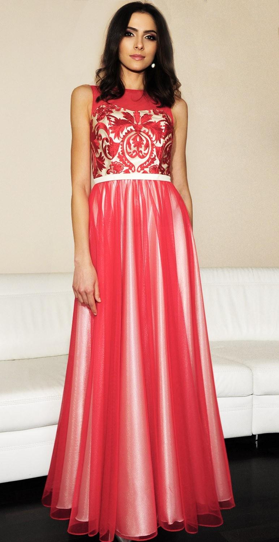 Suknia długa model 362