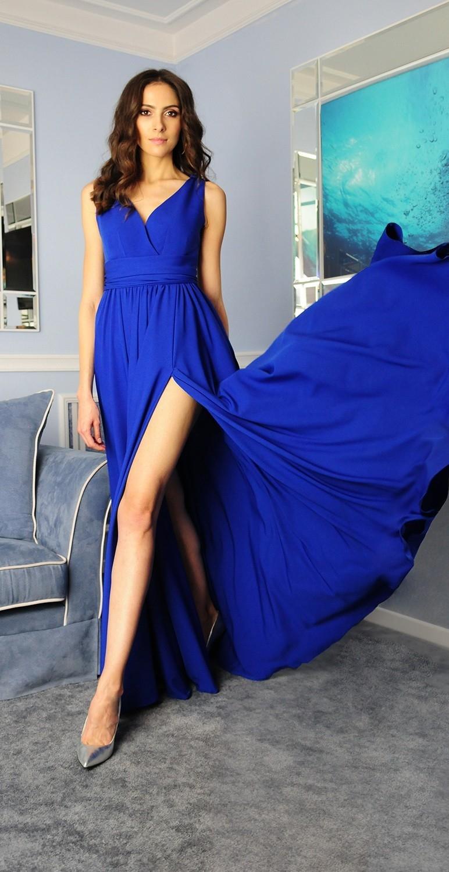 Suknia długa wieczorowa...