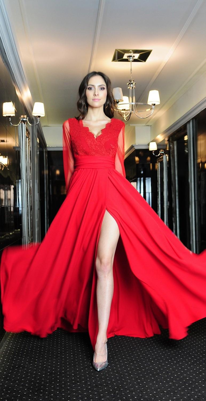 Suknia długa model 379
