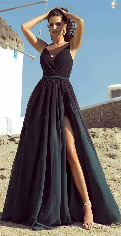 Suknia wieczorowa szyfonowa...