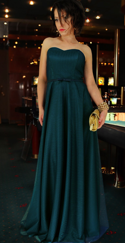 Suknia długa model 323
