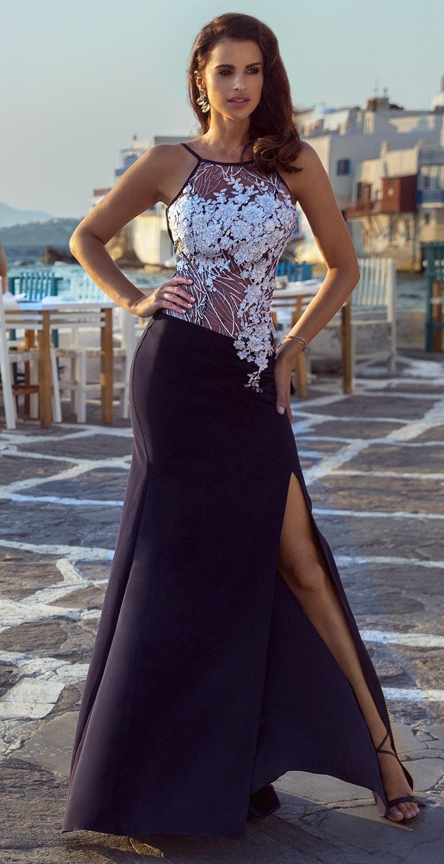 Suknia długa model 419