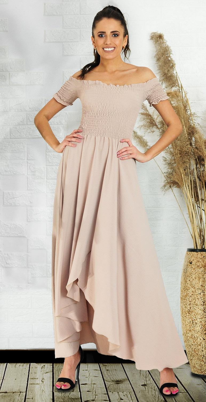 Sukienka asymetryczna model...