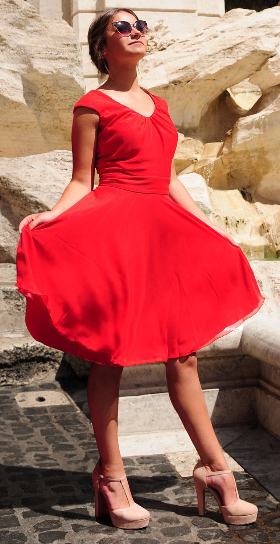 Sukienka szyfonowa model 335