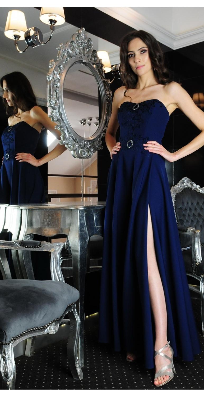 Suknia długa model 378